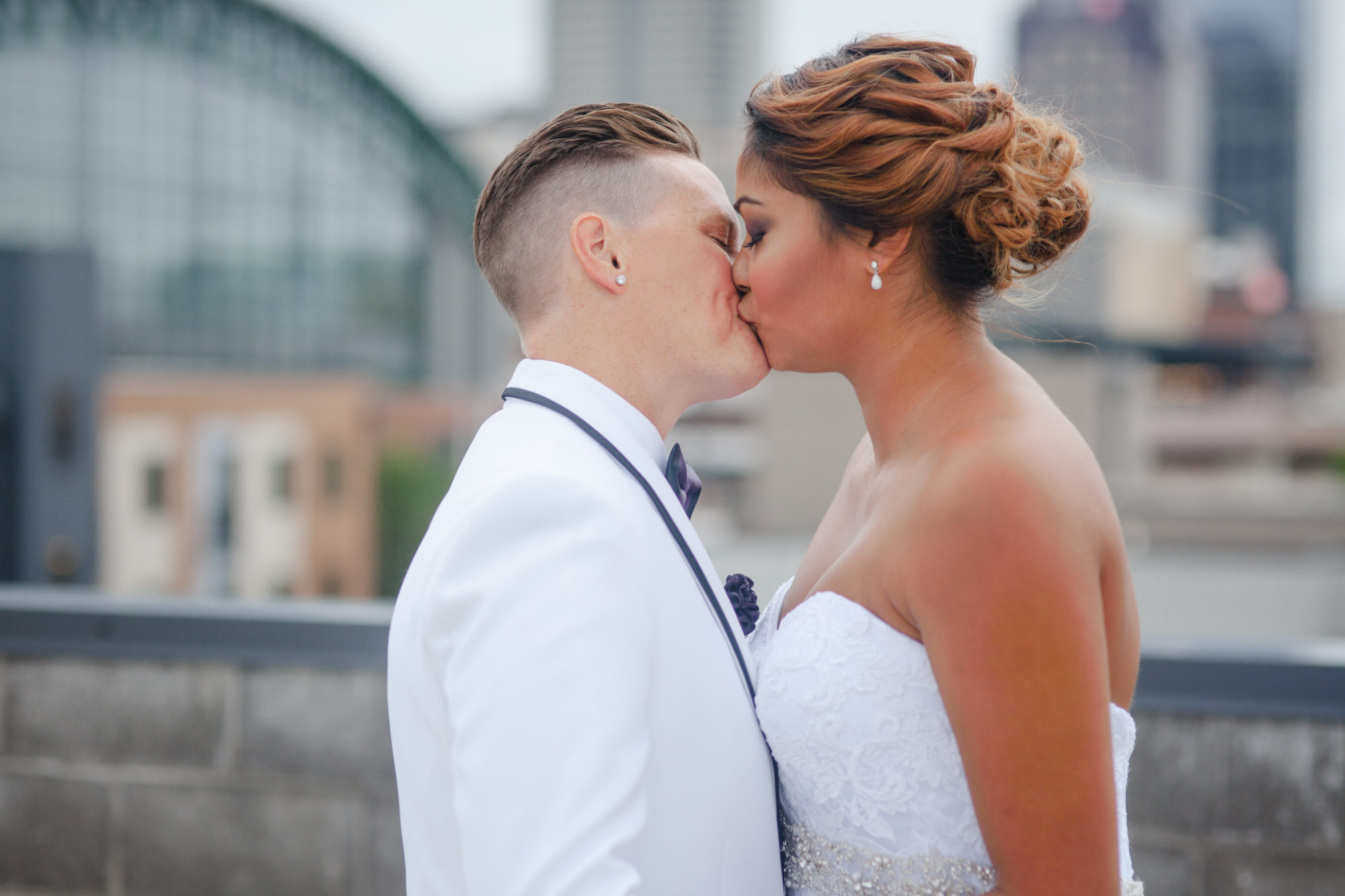 LGBT Lesbian Wedding The Alexander Indianapolis Indiana